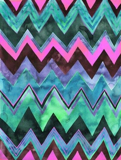 turquoise zigzag wallpapers pinterest - photo #30