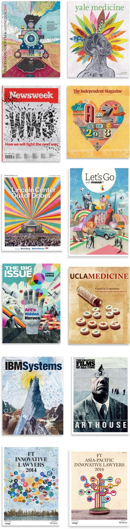 Color art magazine - Selection Of Magazine Covers From The Past 18 Months Or So