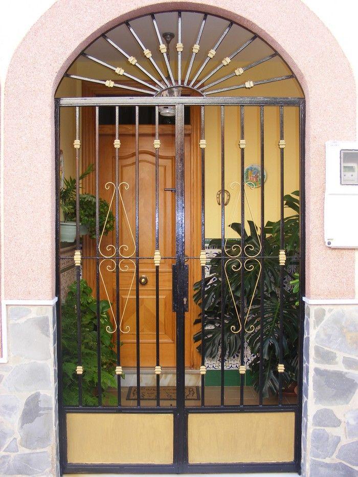Cancelas de hierro cancelas pinterest doors and house - Cancelas de hierro ...