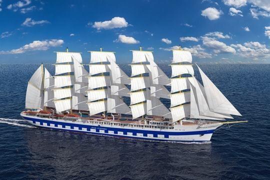 Flying Clipper, le dernier-né des grands voiliers pour la croisière