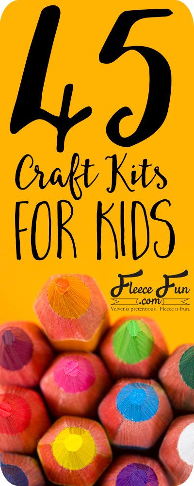 This list of over 45 craft kits for kids will help you find the perfect  project for your kiddo.