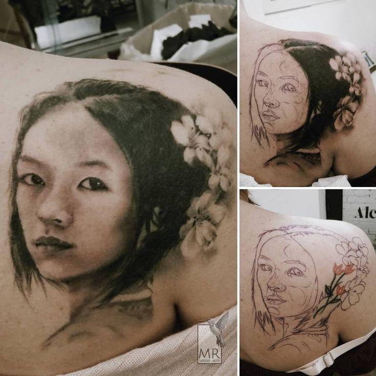 Zhang Ziyi Portrait - Coverup realistic tattoo Special thanks: @alessiolalatattoo  Done with: @kwadron , @cheyenne_tattooequipment  #zhangziyi #zhangziyitattoo #portrait #tattooportrait #tattoorealistic #tattoorealism #tattoocoverup #realisticink #tattooprocess #coveruptattoo #chinesegirl #memoryofageisha #bngtattoos #athenstattoo #athensgreecetattoo #cheyennespirit #kwadroncartridges #blackandgraytattoo #tatuaggio #tatuaggiorealistico #inkedgirls