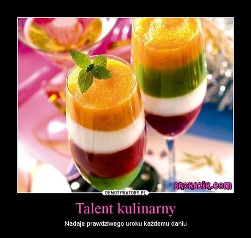 Talent kulinarny – Nadaje prawdziwego uroku każdemu daniu