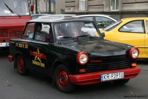 Old times are back differently in Krakow, Poland with Trabant and Communism Tours.