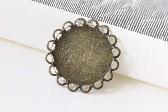 10pcs Antique Silver Mechanical Wheel Gear Charm Pendants 25mm Crafts Findings
