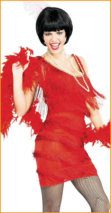 Sexy Vintage Style 1920s Roaring Red FLAPPER by BombshellBetties, $125.00