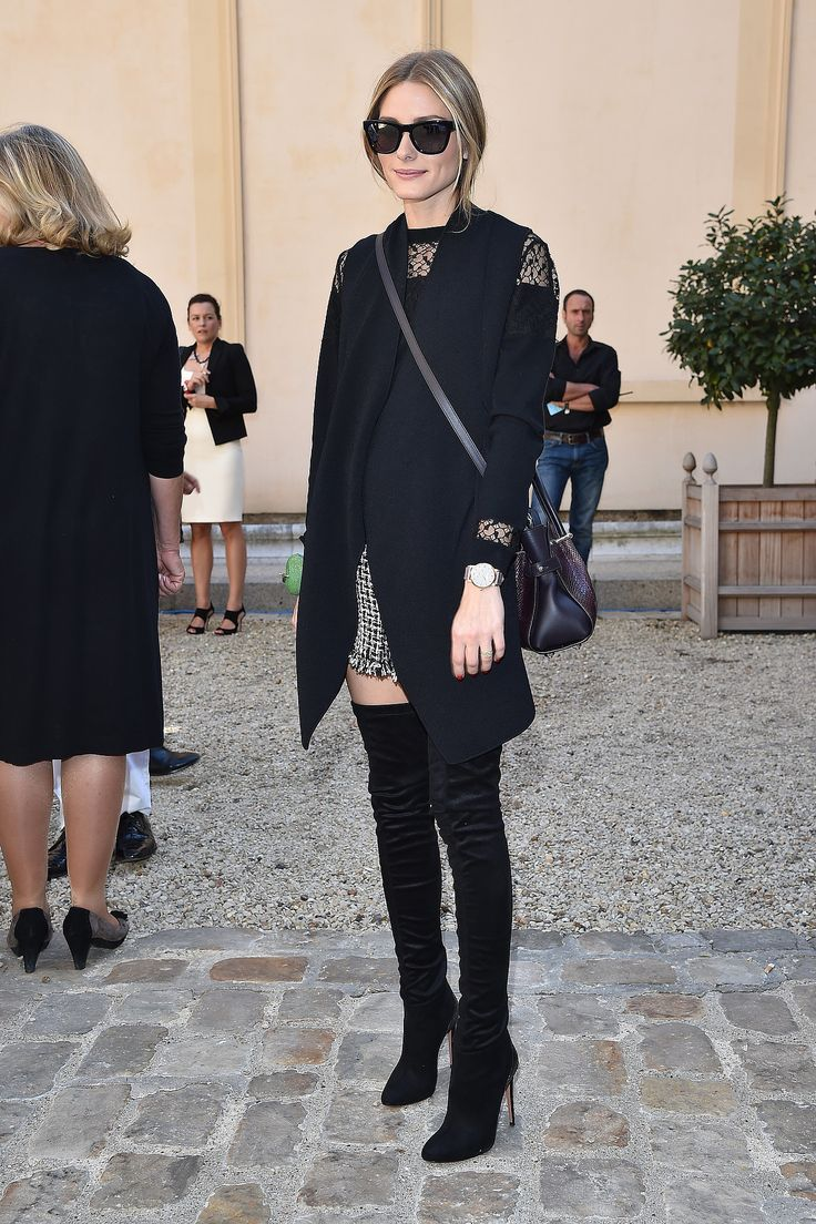Paris Fashion Week: A day of errands calls for all black for the style star, who attended the Viktor
