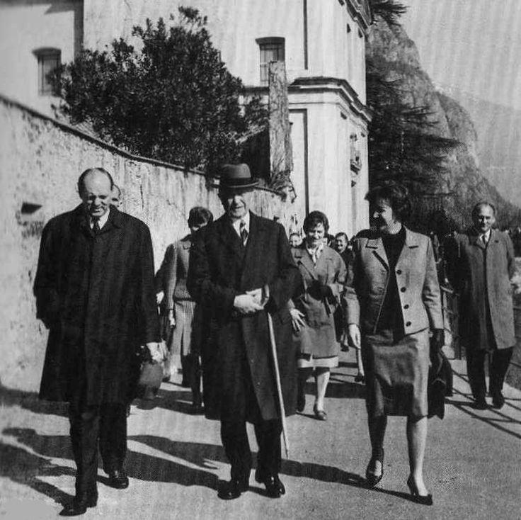 Adenauer a Cadenabbia #lakecomoville