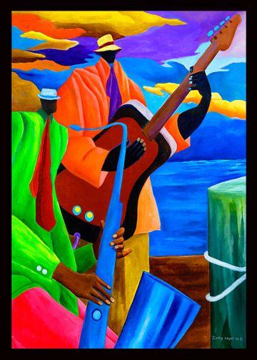 Ivey Hayes Art Work      MUSIC DUET II
