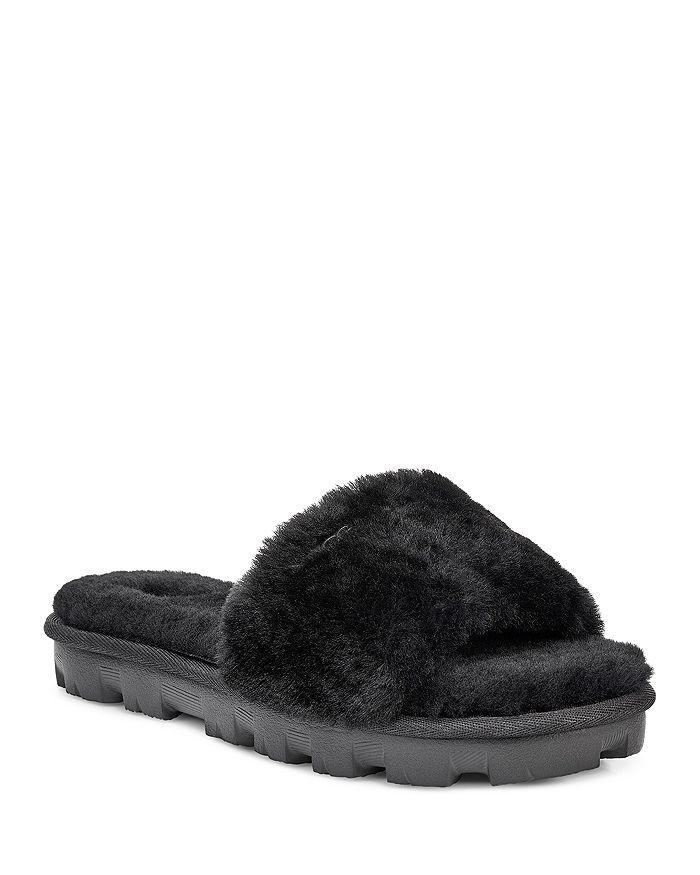 658053848 Women's Cozette Fur Slide Sandals in 2019   The