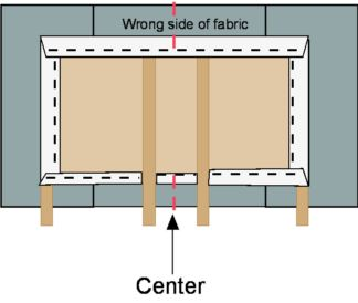 how to make padded headboard