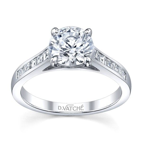 Vatche Caroline Channel Set Diamond Engagement RingFavorite Engagement, Diamond Engagement Rings, Design Engagement, Rings Pin, Wedding Rings, Channel Sets, Caroline Channel, Rings Engagement, Diamonds Engagement Rings