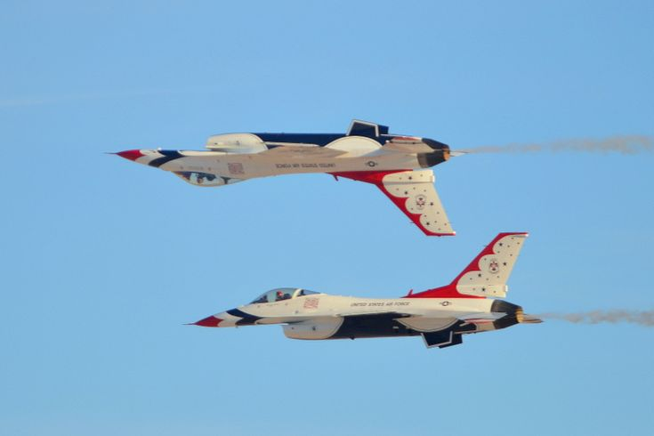 Las Vegas - Home to Nellis AFB and the world famous Thunderbirds