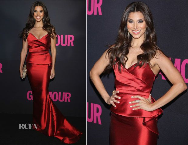 Roselyn Sánchez In Max Azria Atelier – Glamour Magazine 15th Anniversary - Red Carpet Fashion Awards