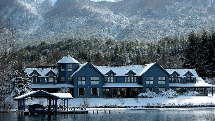 Relais & Chateaux - Patagonia is the last inhabitable land before the South Pole and continues to fascinate all of those who come here. Las Balsas in the Argentine Patagonia #relaischateaux #patagonia #argentina #snow #winter