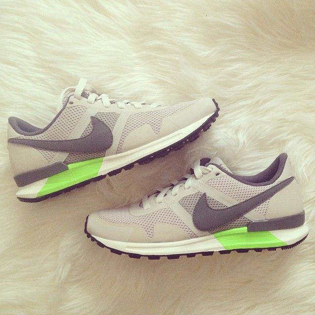 Nike sneakers, look casual but have that twist what catches my attention,  they look