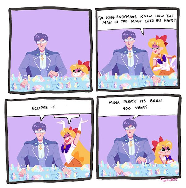 Sailor Moon Space Puns Are Pun For Everyone!
