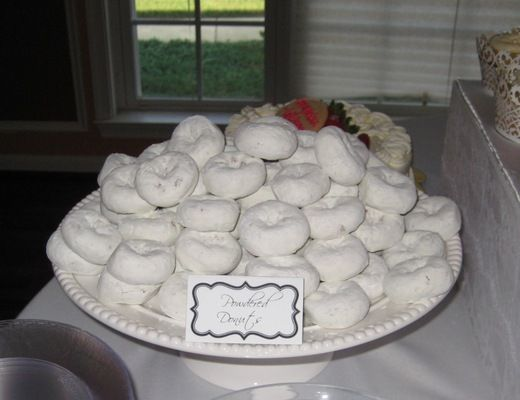 "Photo 1 of 21: All White / Bridal/Wedding Shower ""Jackie's All White Bridal Shower"" | Catch My Party"