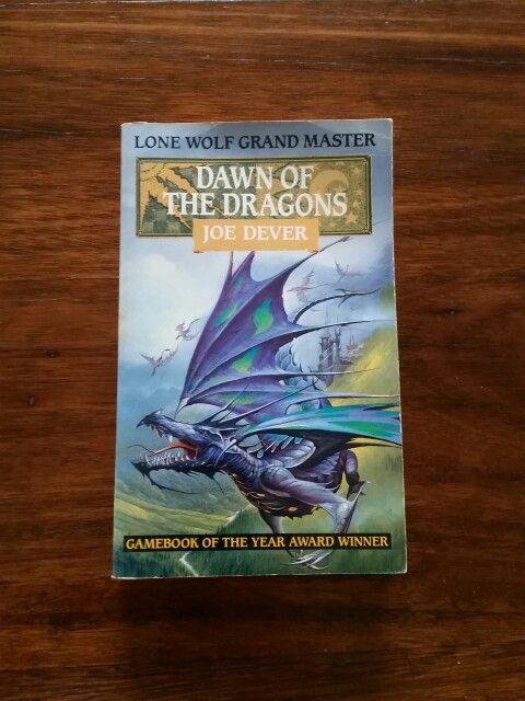 Lone Wolf Book 18: Dawn of the Dragons by Joe Dever