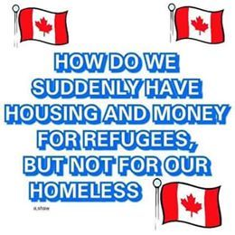 because trudeau is committed to ivin canada away..wrong priorities.
