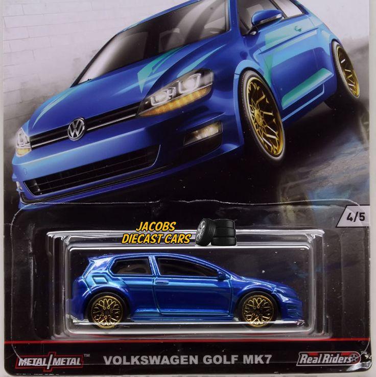 1:64 HOT WHEELS CAR CULTURE EURO STYLE - VOLKSWAGEN GOLF MK7 - 4 of 5 DJF77-956B #HotWheels #Volkswagen