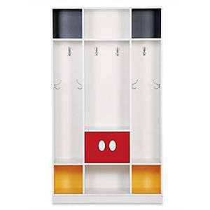 Mickey Mouse Colorblocked Cubbies | Disney Store Mickey's here to help out around the house with this fun and functional storage solution of epic proportions. With a colorful nod to Mickey's shorts, this Colorblocked Cubbies piece cheers up an entryway or any room!