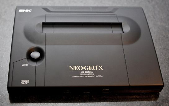Neo Geo X Gold Limited Eduction