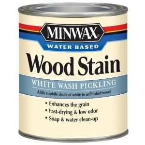 Minwax Water Based Wood Stain White Wash Pickling