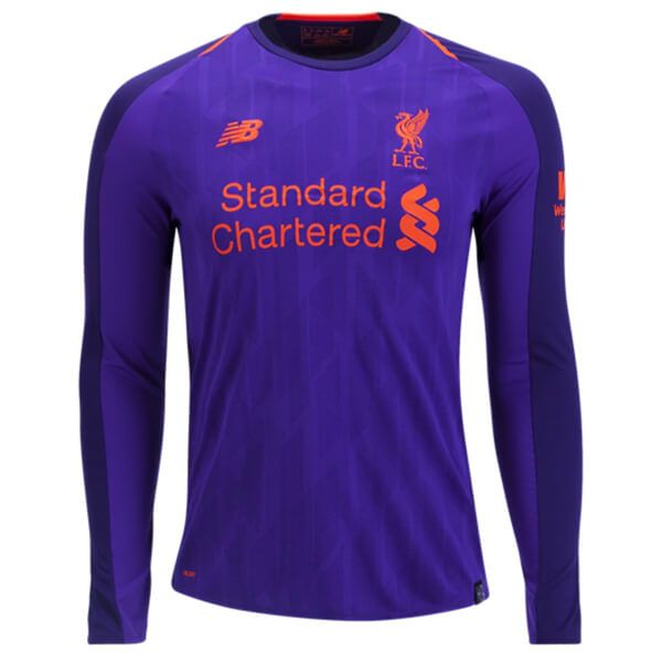 innovative design 7fde7 cdfd7 Cheap Liverpool Away Football Shirt 18/19 Long Sleeves ...