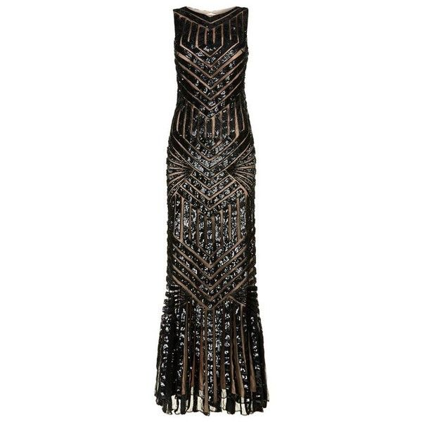 Jovani Aztec Embellished Column Gown ($2,020) ❤ liked on Polyvore featuring dresses, gowns, sequin ball gown, jovani evening dresses, sequin mesh dress, cut out dresses and jovani dresses
