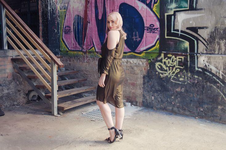 Cutaway Dress | The Blonde Silhouette