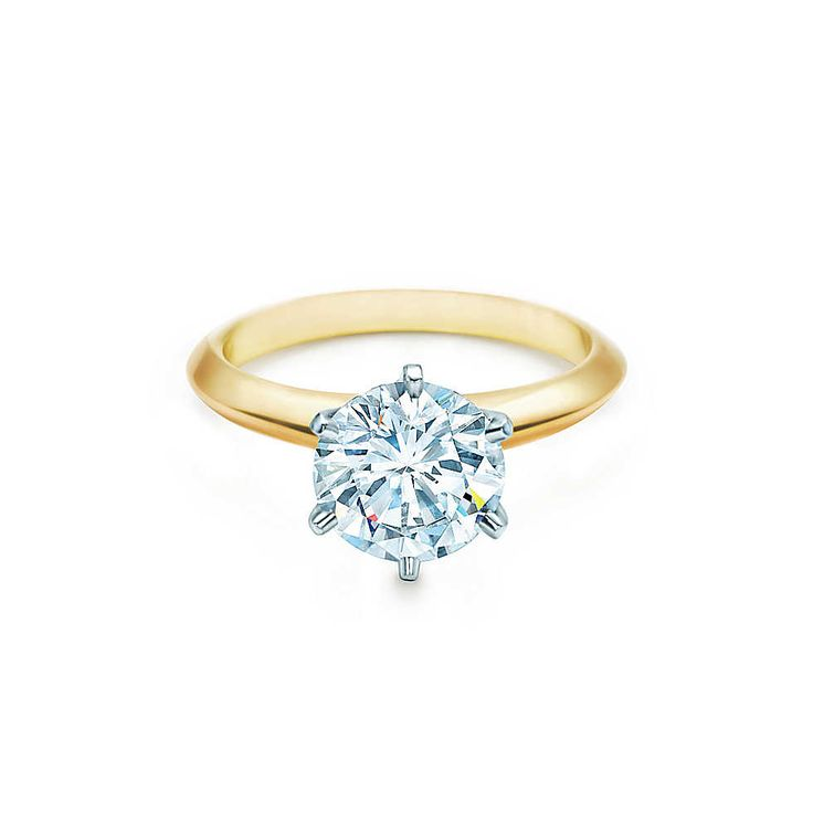 Tiffany & Co. - The Tiffany® Setting 18K Yellow Gold THE SIMPLE AND PURE RING- love it!