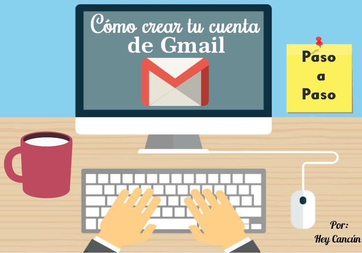 Abre tu cuenta de correo gmail en simples y sencillos pasos