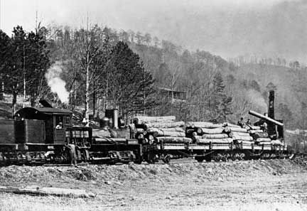 logging Trains | shay 9 log train on trestle shay with log train 148 with log train in ...