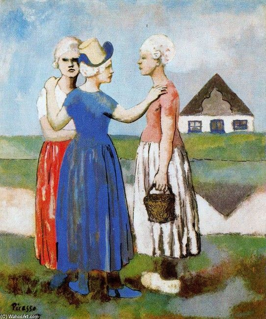 The Three Dutch Women From Pablo Picasso