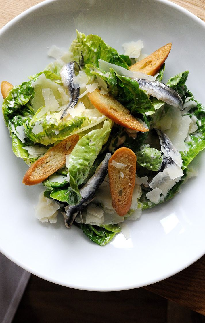Tom Aikens' classic Caesar salad recipe includes a recipe for making your own baguette, which isn't entirely necessary but will give it a touch of class. Leave out the chicken to make this recipe pescatarian.