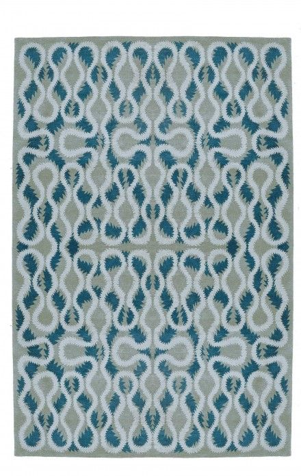 Squiggle Blue By Vivienne Westwood For The Rug Company