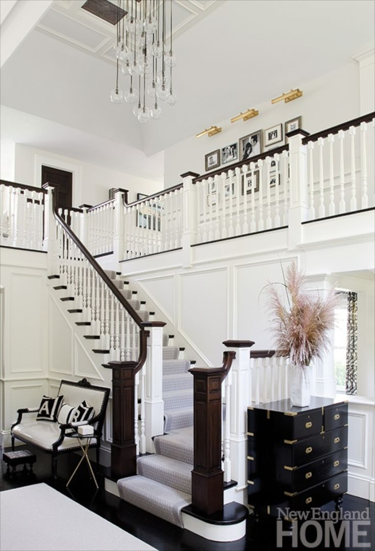 Love the idea of stairs opening to the living room, and an open hallway on  the second floor to keep all the spaces as one.