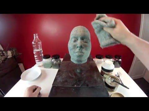 Vidéo démo : Patine en bronze sur plâtre ou terre cuite par Sculpture&Go - l'Atelier Géant