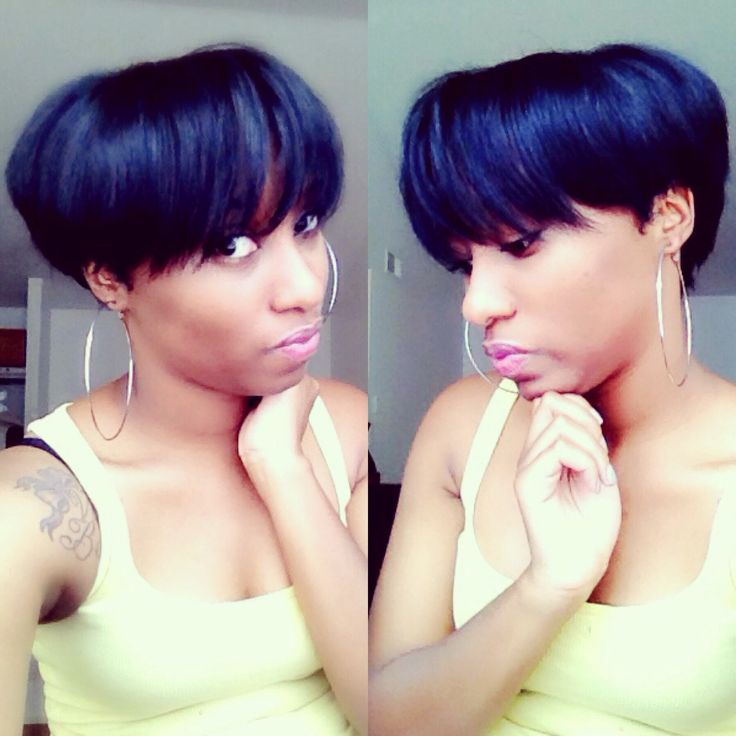 Astounding 1000 Images About My New Look On Pinterest Short Cuts Mushroom Short Hairstyles For Black Women Fulllsitofus