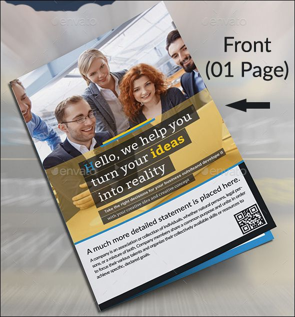 how to write a brochure for new product sample