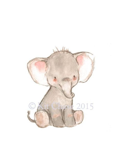 This little fella is just waiting to stomp around with... you? art print from an original watercolor, gouache, and acrylic painting by Kit Chase. archival matte