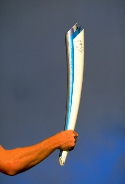 FILE) Olympic Torch Lighting Ceremony: A Look Back At The Olympic ...
