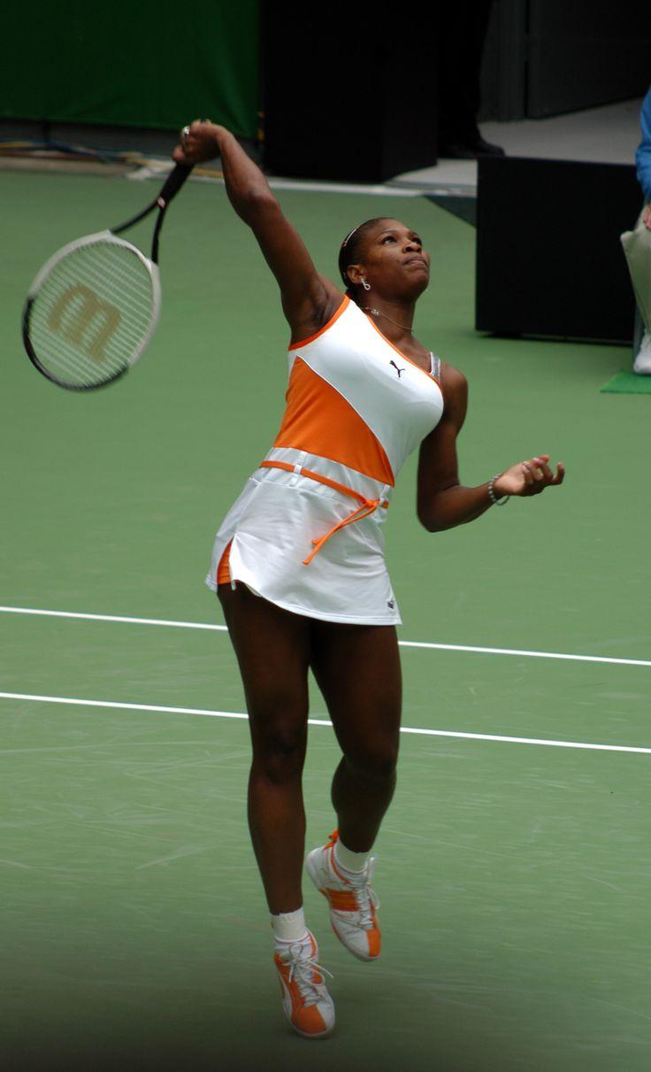 Fashion Fest --  A Look Back at Every Serena Williams Grand Slam Singles Winning Sneaker ....Serena Williams' 5th Major Championship & 4th Straight Major: The 2003 Australian Open;   Opponent: Venus Williams; Shoe: Puma Extrena SW. #SerenaSlam1.0 Complete. Sep 22, 2015