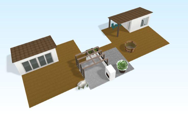 Beach House - Sauna - Strandbod - Bastu