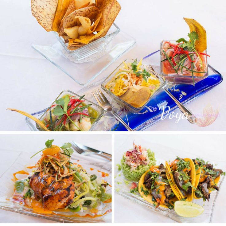 Need a quick vacation but only have an hour to spare? Escape to South America for lunch at The Voya!  South American Cuisine   The Voya Restaurant in Mountain View   Lunch Menu