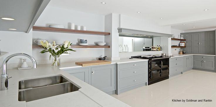 Best Grey Aga Contemporary Kitchen Aga Kitchen Kitchen Design 640 x 480