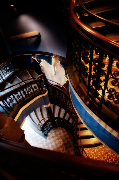 Staircase in the QVB | Image: Nigel Unsworth Photography