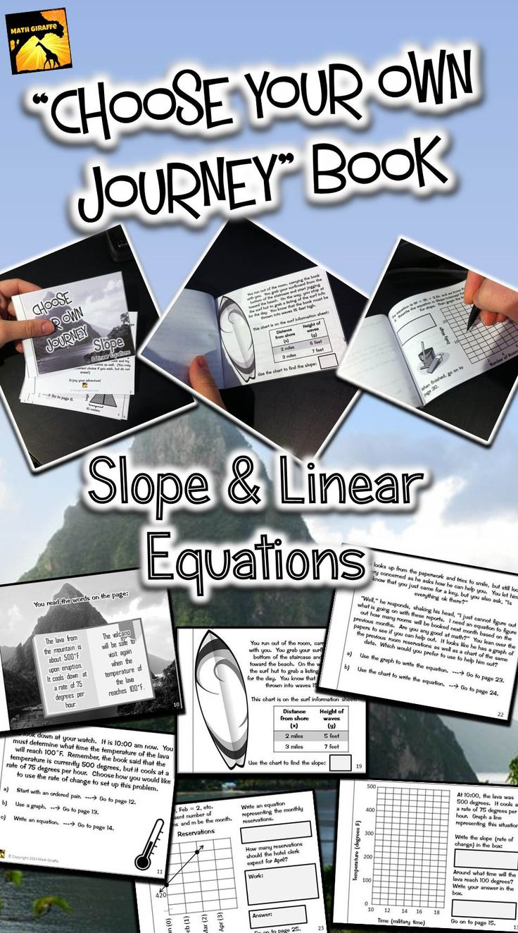 Slope And Linear Equations: