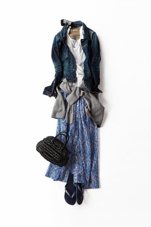 Kyoko Kikuchi's Closet | 春に着る、夏のプリントドレス